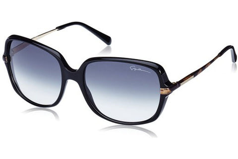Giorgio Armani GA911/S G3U/JJ Sunglasses, Black Gold Frame, Grey Gradient 57mm Lenses