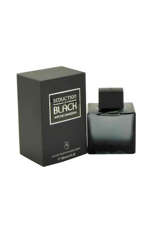 Antonio Banderas Seduction In Black 3.4 Edt Sp For Men