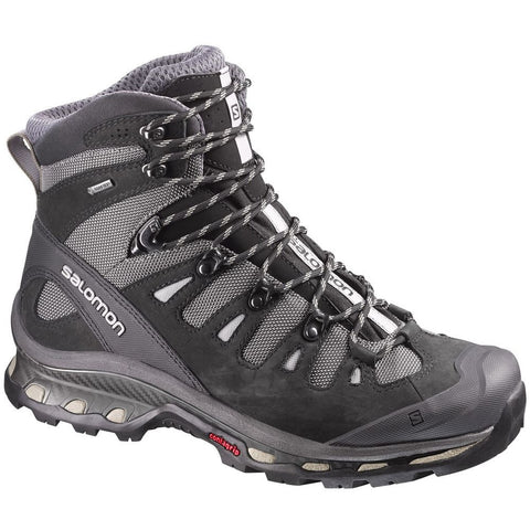 Salomon L37073100-075 Men's Quest 4D 2 GTX Hiking Boot, Detroit/Black/Navajo, 7.5  US