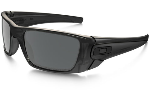 Oakley OO9096 83 Fuel Cell Sunglasses, Matte Black Ink Frame, Polarized Black Iridium 60mm Lenses