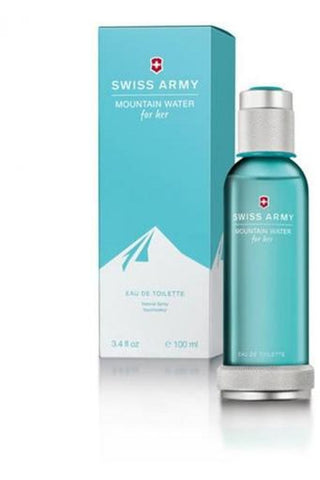 Swiss Army Mountain Water 3.4 Edt Sp For Women