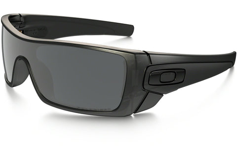 Oakley OO9101-35 Batwolf Polarized Sunglasses, Matte Black Ink Frame, Polarized Black Iridium 127mm Lenses