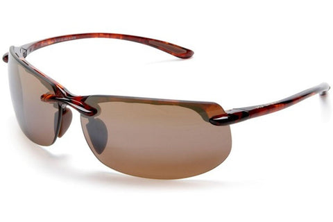 Maui Jim H412-10 Banyans Sunglasses, Tortoise Frame, Polarized HCL Bronze 70mm Lenses