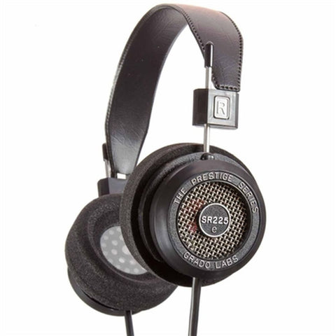 Grado SR225e Prestige Series Headphones, Dynamic Open Air, 20-22,000Hz Frequency Response, 32Ohms Impedance