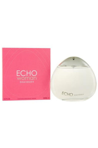 Echo 3.4 Deodorant Sp For Women (Glass Bottle)