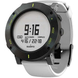 Suunto SS020690000 Core White Crush Digital Display Quartz Watch, White Silicone Band, Round 49.1mm Case