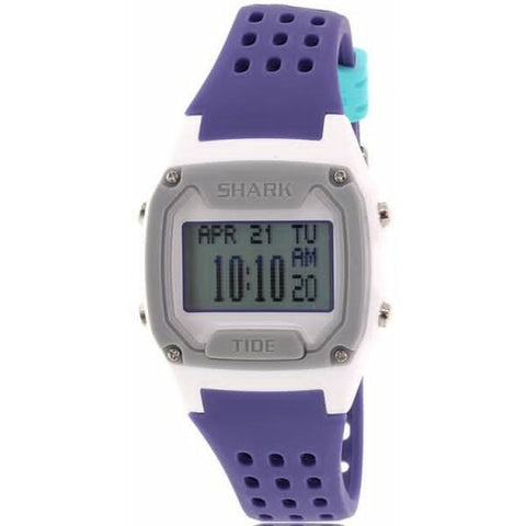 Freestyle Unisex 10019171 Tide Trainer Purple/White Digital Watch, Purple Silicone Band, Tonneau 38mm Case