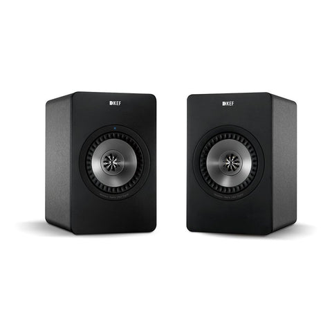 KEF X300AWGM Wireless Digital Hi-Fi Speaker System, Gunmetal