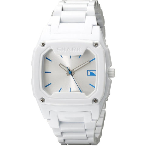 Freestyle Women's 101990 Shark Classic Candy Analog Watch, White Plastic Band, Rectangle 37mm Case