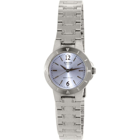 Casio LTP1177A-2A Women's Analog Display Quartz Watch, Silver Stainless Steel Band, Round 25mm Case