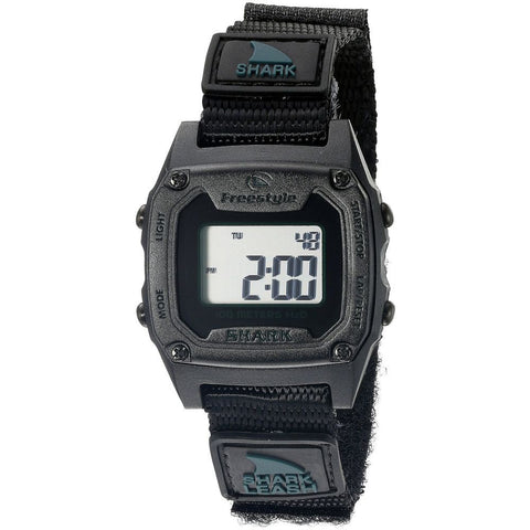 Freestyle Unisex 10022928 Shark Leash Mini Digital Watch, Black Nylon Band, Tonneau 30mm Case