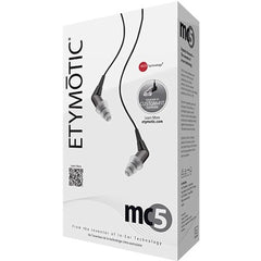 Etymotic Research MC5 Noise Isolating In-Ear Earphones, Black