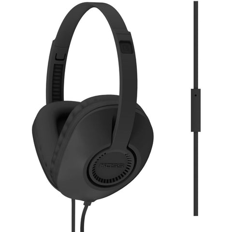 Koss UR23i Full Size Headphones, Over-Ear, 20-20,000 Hz Frequency Response, 34 Ohms Impedance