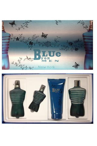Blue 4 Pcs Set For Men: 4.2 Sp