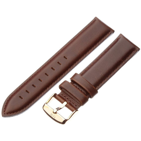 Daniel Wellington 0309DW Classic Bristol Watch Strap, Rose Gold 20mm