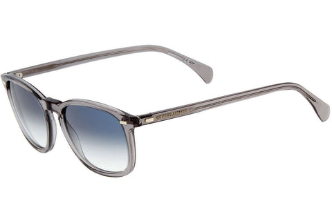 Giorgio Armani GA836/S HXM/0H Sunglasses, Gray Frame, Blue Gradient 51mm Lenses