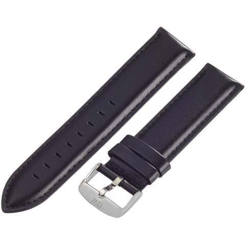 Daniel Wellington 0406DW Classic Sheffield, Black Leather Band, 20mm Width
