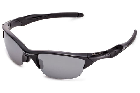 Oakley OO9153-04 Half Jacket 2.0 Sunglasses, Polished Black Frame, Polarized Black Iridium 62mm Lenses