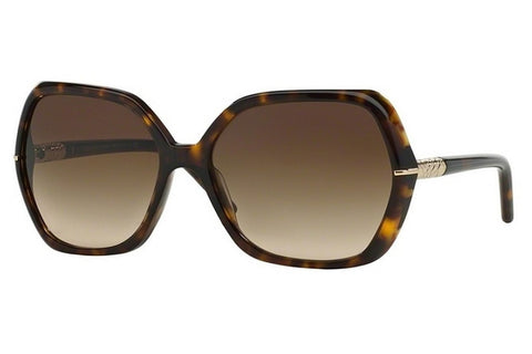 Burberry BE4107 300213 Butterfly Women's Sunglasses, Tortoise Frame, Brown Gradient 60mm Lens