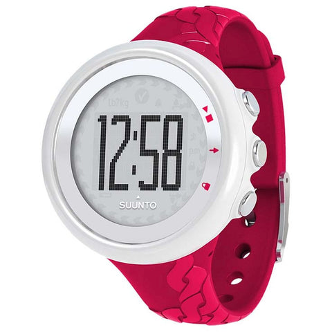 Suunto SS015855000 M2 Fuchsia Digital Display Quartz Watch, Fuchsia Elastomer Band, Round 43.6mm Case
