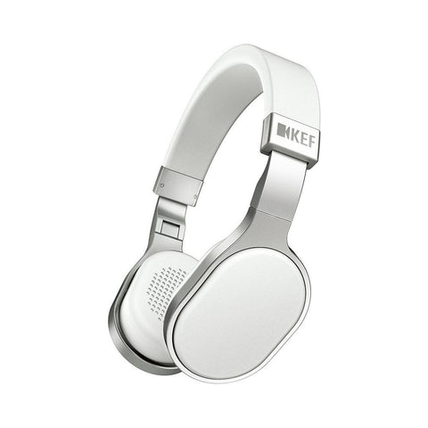 KEF M500 Hi-Fi On-Ear Headphones, White