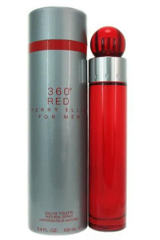 360 Red 3.4 Edt Sp For Men