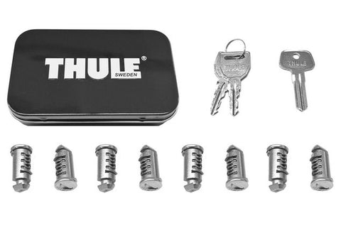 Thule 512-P 8-Pack One-Key Lock Cylinders