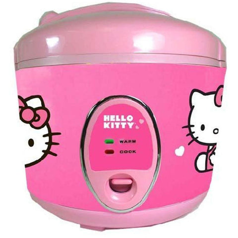 Hello Kitty APP-43209 Rice Cooker, Pink