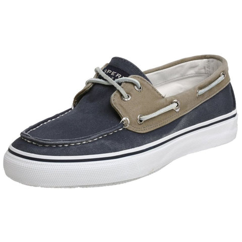 Sperry Top-Sider 0561333 Men's Bahama 2-Eye Boat Shoe, Khaki/Oyster, Size 8.5 US(M)