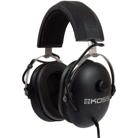 Koss QZ99 Passive Noise Reduction Headphones, Over-Ear, 40-20,000 Hz Frequency Response, 60 Ohms Impedance