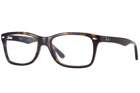 Ray-Ban RX5228 2012 Eyeglasses, Tortoise Frame, Clear 53mm Lenses