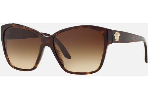 Versace VE 4277 108/13, Havana Brown Frame, Brown Gradient 60mm Lenses
