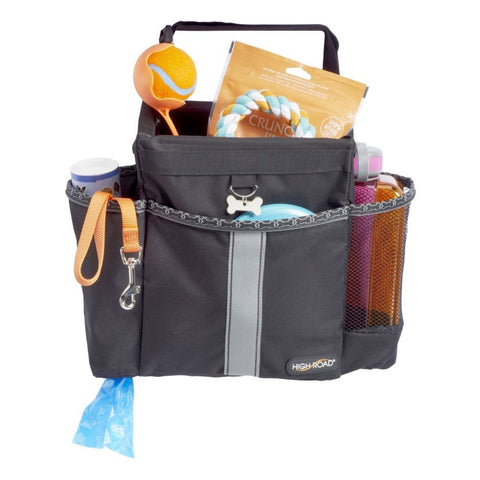 High Road HR-DG-101BLK Wag'nRide Doggie Seatback Organizer, Black