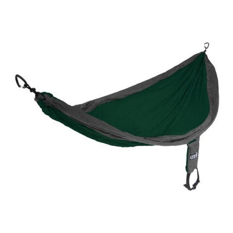 Eagles Nest Outfitters SH-027 SingleNest Hammock, Forest/Charcoal