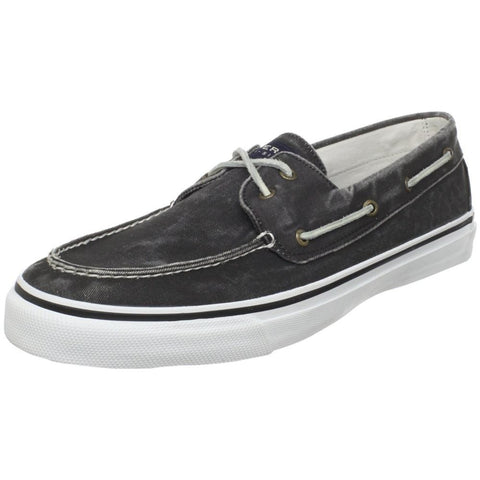 Sperry Top-Sider 0224204 Men's Bahama Two-Eyelet Boat Shoe, Black, 7 D(M) US