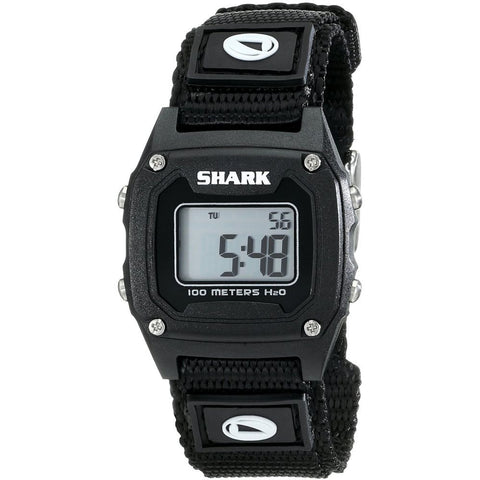 Freestyle Women's 778011 Shark Classic Mini Digital Watch, Black Nylon Band, Square 30mm Case