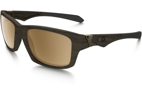 Oakley OO9135 07 Polarized Jupiter Squared Sunglasses, Woodgrain Frame, Polarized Tungsten Iridium 56mm Lenses