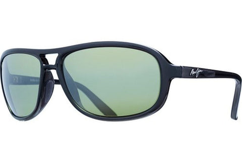 Maui Jim 288-2M Breakers Unisex Sunglasses, Matte Black Frame, Neutral Grey 64mm Lenses