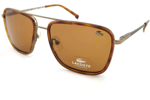 Lacoste L143S 210 Sunglasses, Brown Bronze Frame, Brown 54mm Lenses