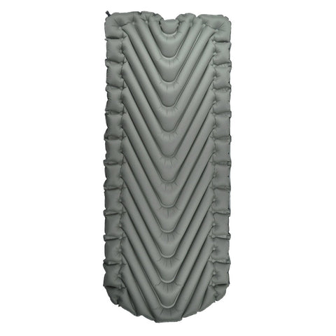 Klymit 06VLSt01D Static V Luxe Sleeping Pad, Grey