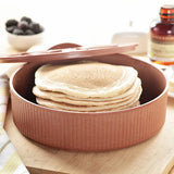Nordic Ware Tortilla and Pancake Warmer, Item No. 67300
