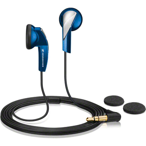 Sennheiser MX 365 In-Ear Earphones, Blue