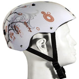 Bike USA 9201 Punisher Skateboards Cherry Blossom Helmet