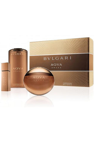 Bvlgari Aqua Amara 3 Pcs Set For Men: 3.4 Sp