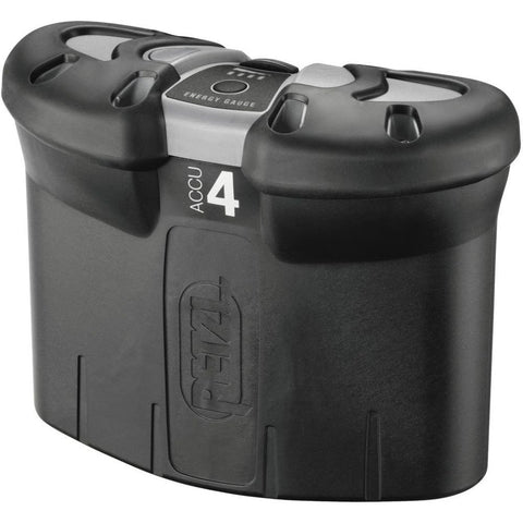 Petzl E55400-2 Accu 4 Ultra Rechargeable Battery, Black/Gray, One-Size