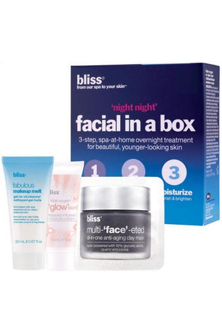 Bliss 'Night Night' Facial In A Box 2 Facials