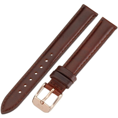 Daniel Wellington 1000DW Classy St. Mawes, Brown Leather Band, 13mm Width