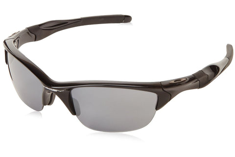 Oakley OO9144-01 Half Jacket 2.0 Sunglasses, Polished Black Frame, Black Iridium 62mm Lenses
