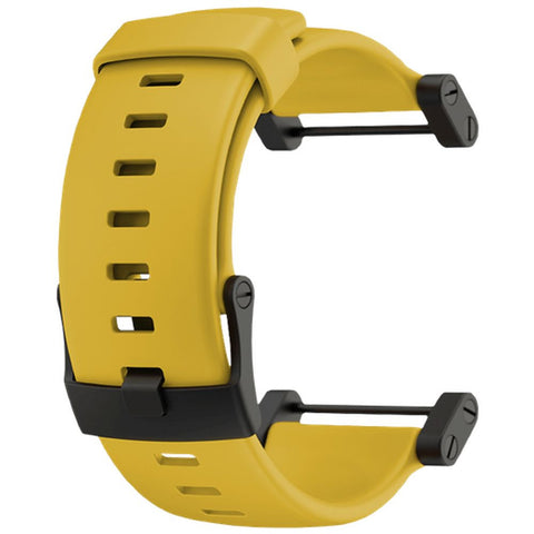 Suunto SS018819000 Core Yellow Rubber Strap