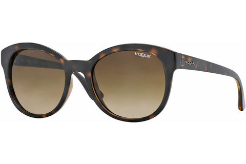 Vogue VO2795S W65613 Sunglasses, Dark Havana Frame, Brown Gradient 53m Lenses